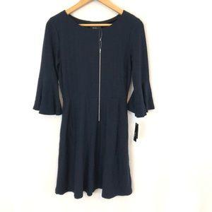 Alyx Petites Navy 3/4 Dress